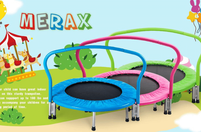 "Merax Mini Trampoline 36"" with Handrail Review"